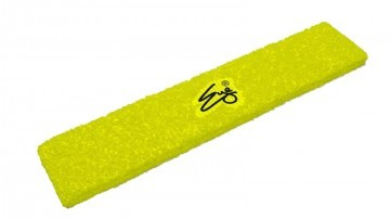 Eye Head Band Neon Yellow with Black Logo